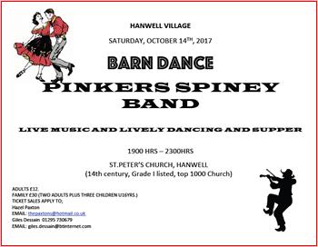 Barn Dance Poster